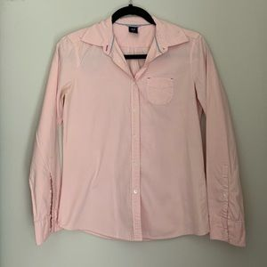 Light Pink Long Sleeved Button Down